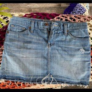 Lucky Brand Mini Denim Skirt